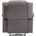 Lynette Fabric Power Recliner Chair - Gray - WI-U1294X-GRAY-RECLINER