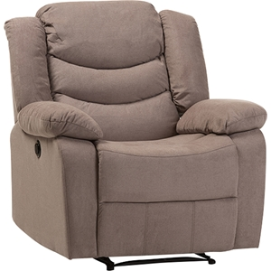 Lynette Fabric Power Recliner Chair - Taupe