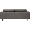 Brittany 2-Piece Fabric Upholstered Sofa Set - Gray - WI-U5073K-DUST-GRAY-2PC-SET