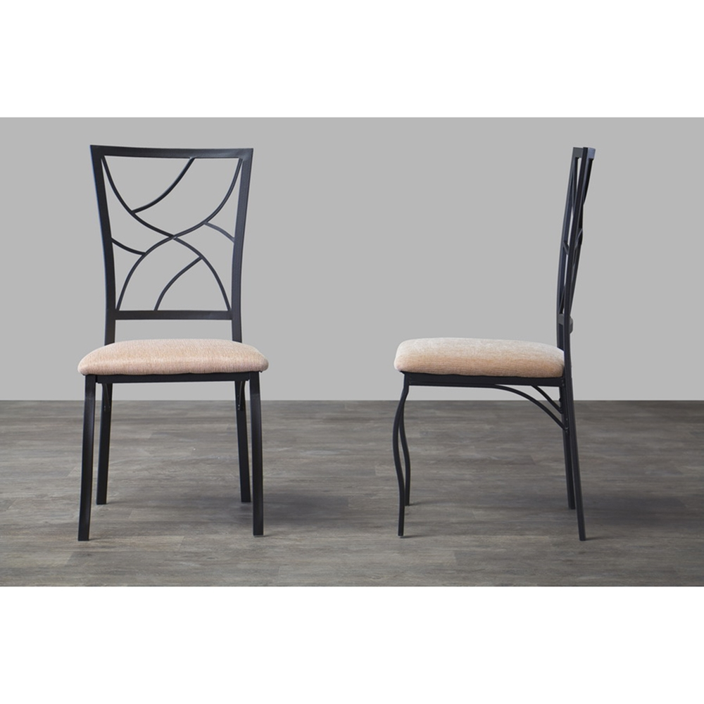 Valletta Dining Chair Black Beige Set of 2 DCG Stores : wr d115 chair 1 from www.dcgstores.com size 1000 x 1000 jpeg 219kB