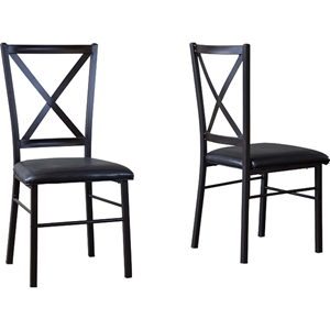 Rexroth Dining Chair - Black (Set of 2)