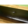 Danilo Dark Brown Leather Bench - WI-Y-038-BR