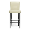 Bianca 30'' Modern Bar Stool - Scroll Back, Cream - WI-Y-303-CREAM-PSTL