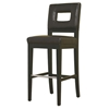Franklin Dark Brown Leather Barstool - WI-Y-780-FU001-1