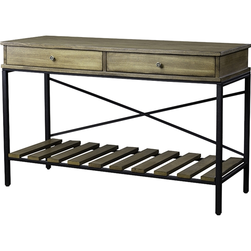 Newcastle 2 drawers console table brown antique bronze for Chinese furniture newcastle
