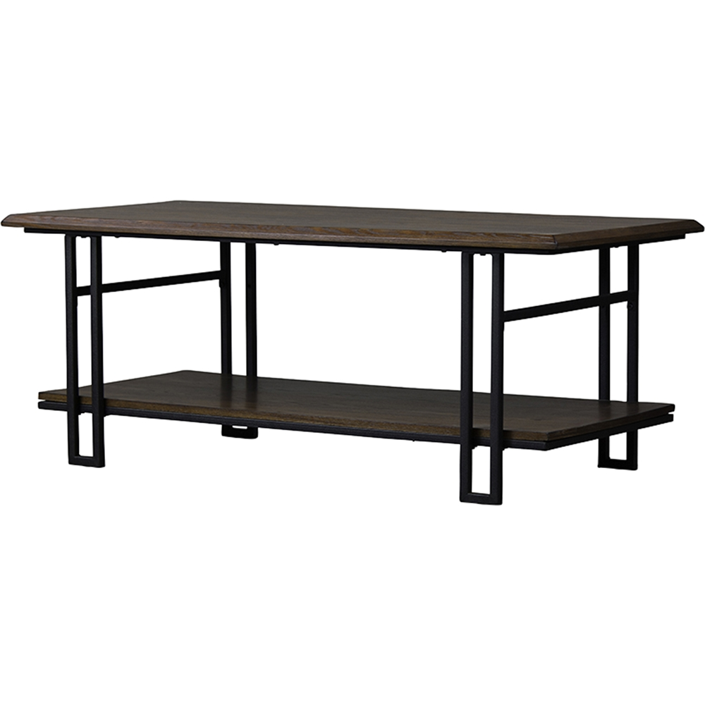 Newcastle 1 shelf coffee table brown antique bronze for Chinese furniture newcastle