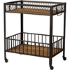 Bentley Kitchen Serving Cart - Brown - WI-YLX-9032
