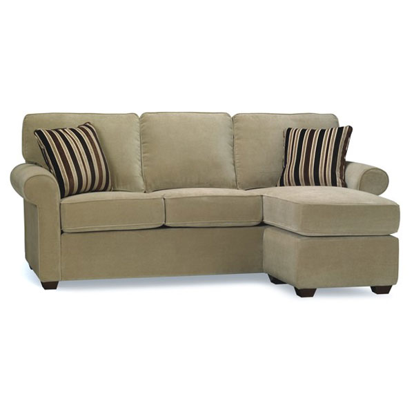 Sectional Sofa Couch Reversible Chaise Ottoman Furniture: Penelope Reversible Chaise Sofa