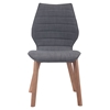 Aalborg Dining Chair - Graphite - ZM-100057