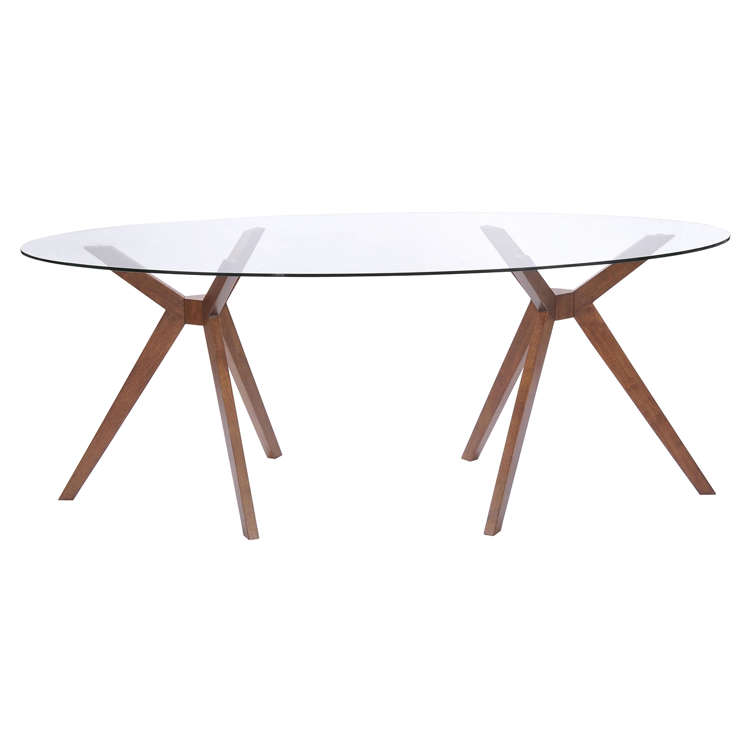 Buena Vista Walnut Dining Table - ZM-100090