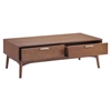 Design District Walnut Coffee Table - ZM-100091