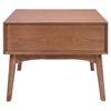 Design District Walnut Side Table - ZM-100092