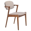 Brickell Dove Gray Dining Chair - ZM-100113
