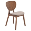 Overton Dove Gray Dining Chair - ZM-100116