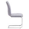 Anjou Dining Chair - Gray - ZM-100123