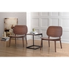 Priest Lounge Chair - Walnut - ZM-100152