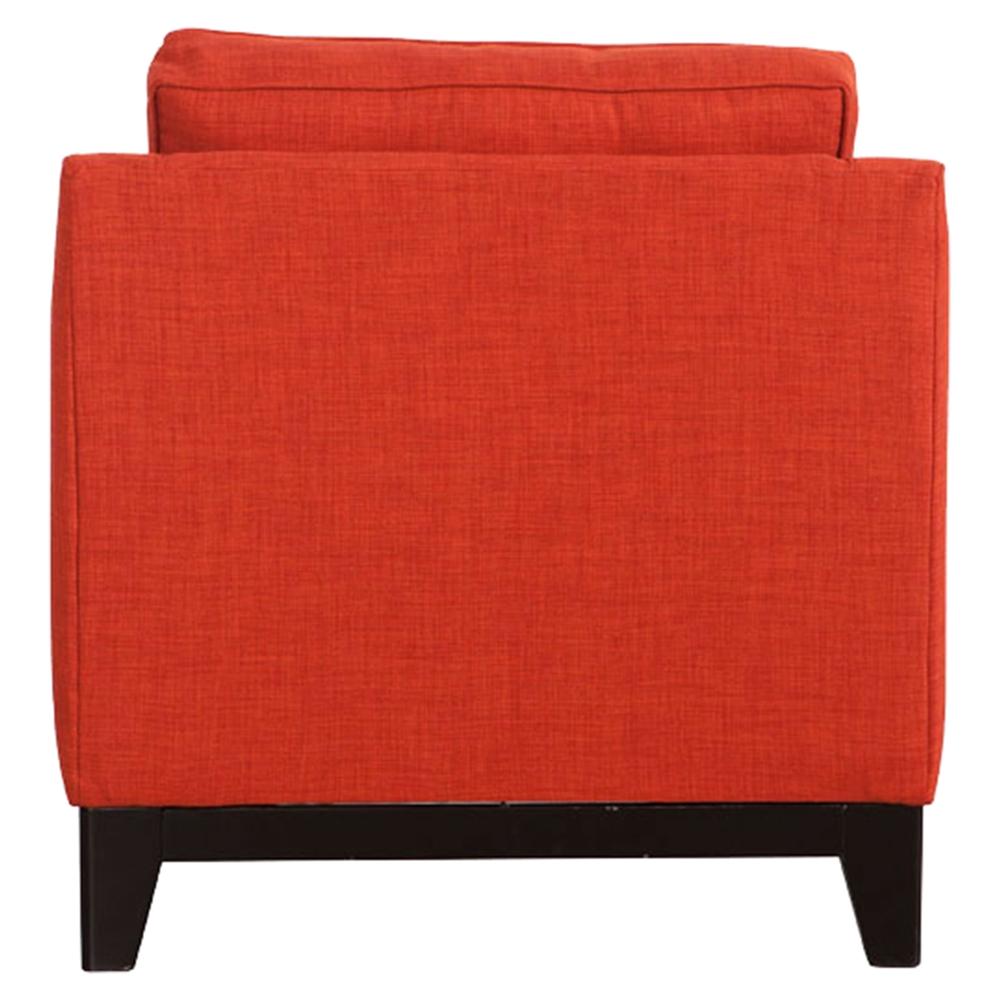 Chicago Tufted Arm Chair Burnt Orange Dcg Stores