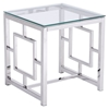 Geranium Side Table - Stainless Steel - ZM-100185