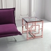 Geranium Side Table - Rose Gold - ZM-100186
