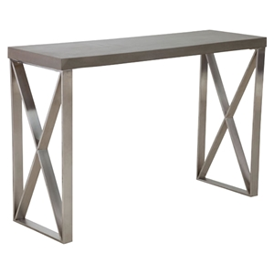 Paragon Console Table - Cement