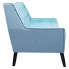 Nantucket Sofa - Tufted, Aqua Velvet - ZM-100215