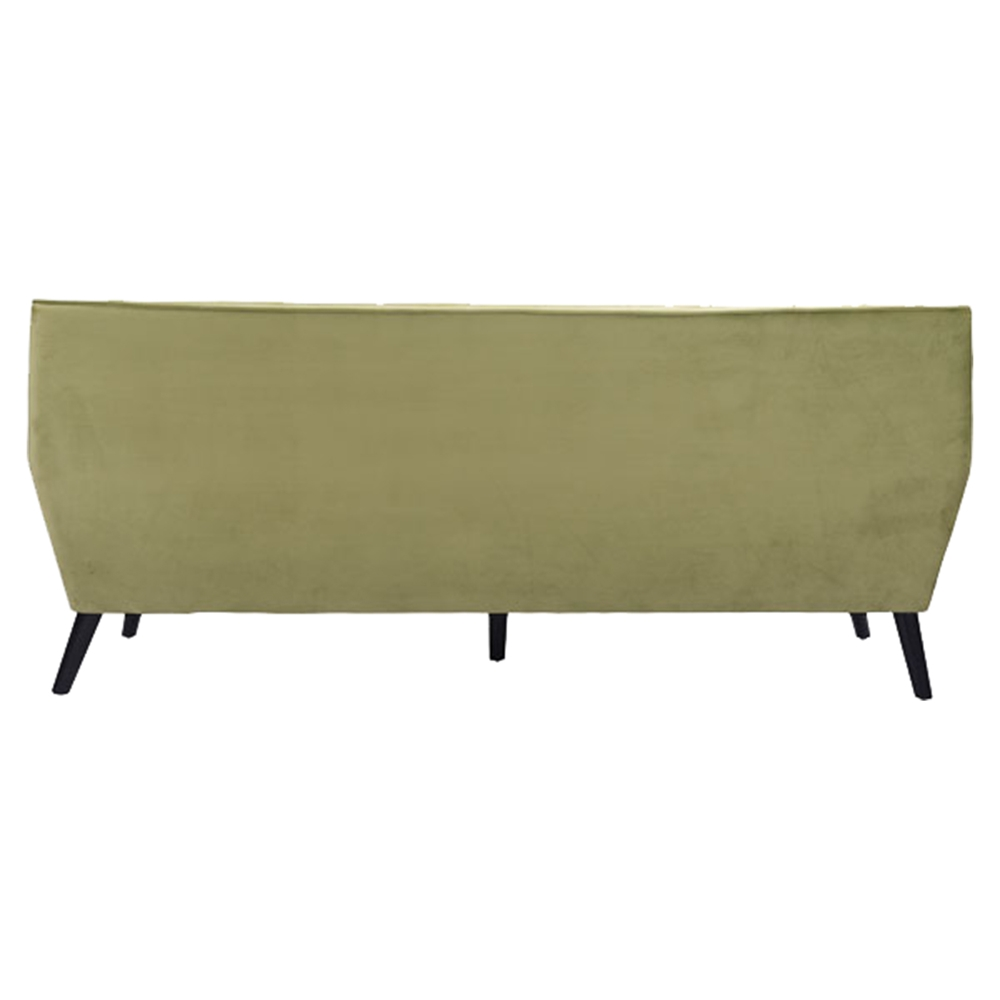 Nantucket sofa tufted green velvet dcg stores for Button tufted velvet chaise settee green
