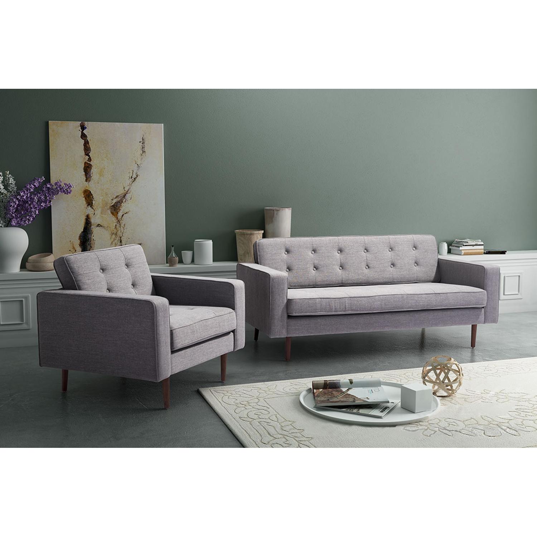 Puget Sofa Tufted Gray Dcg Stores