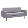 Puget Sofa - Tufted, Gray - ZM-100222