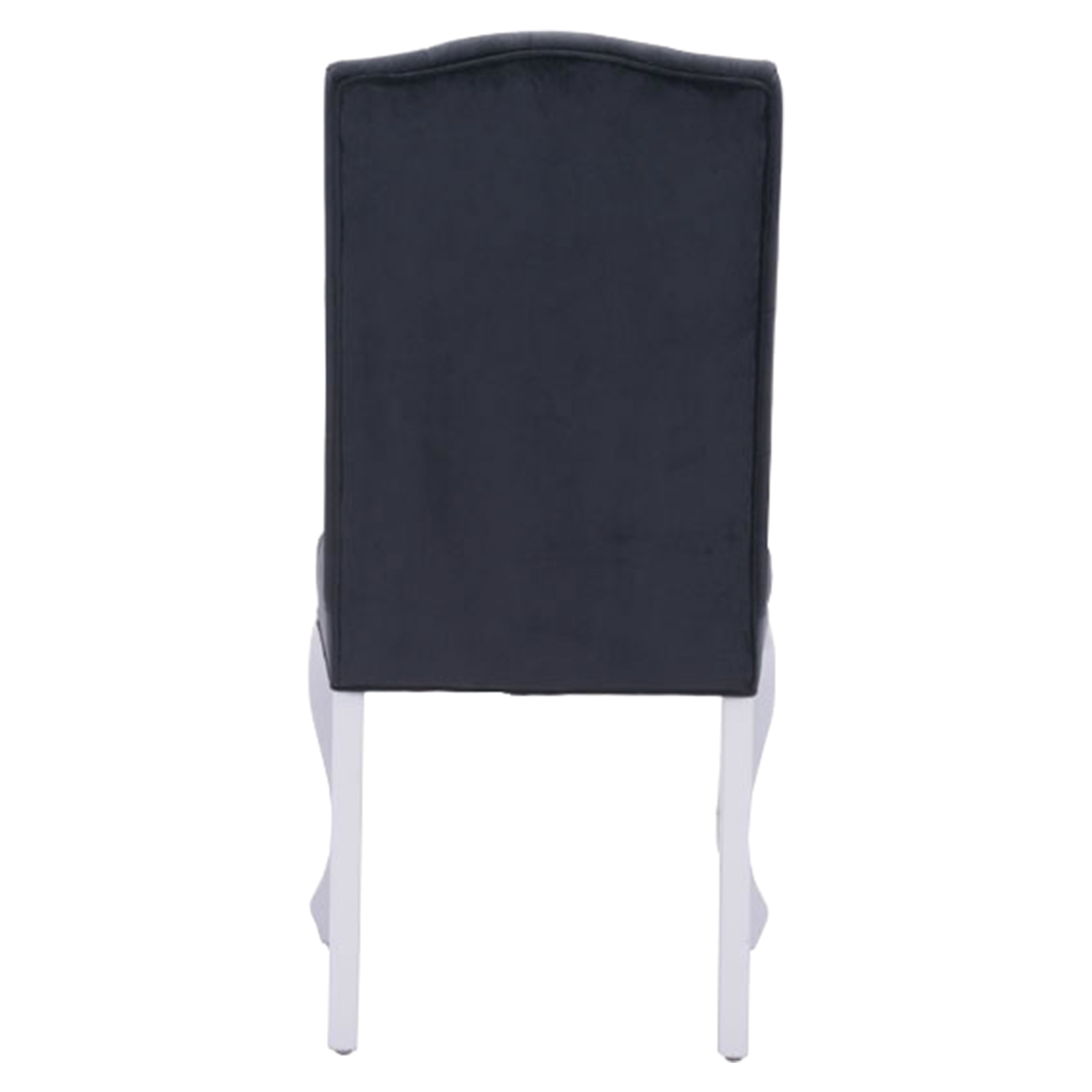 Bourbon Tufted Dining Chair - Black Velvet - ZM-100226