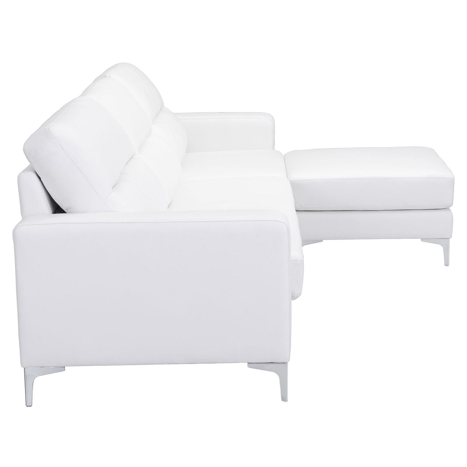Versa Sectional - White - ZM-100233