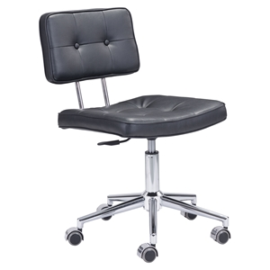 Series Tufted Office Chair - Black