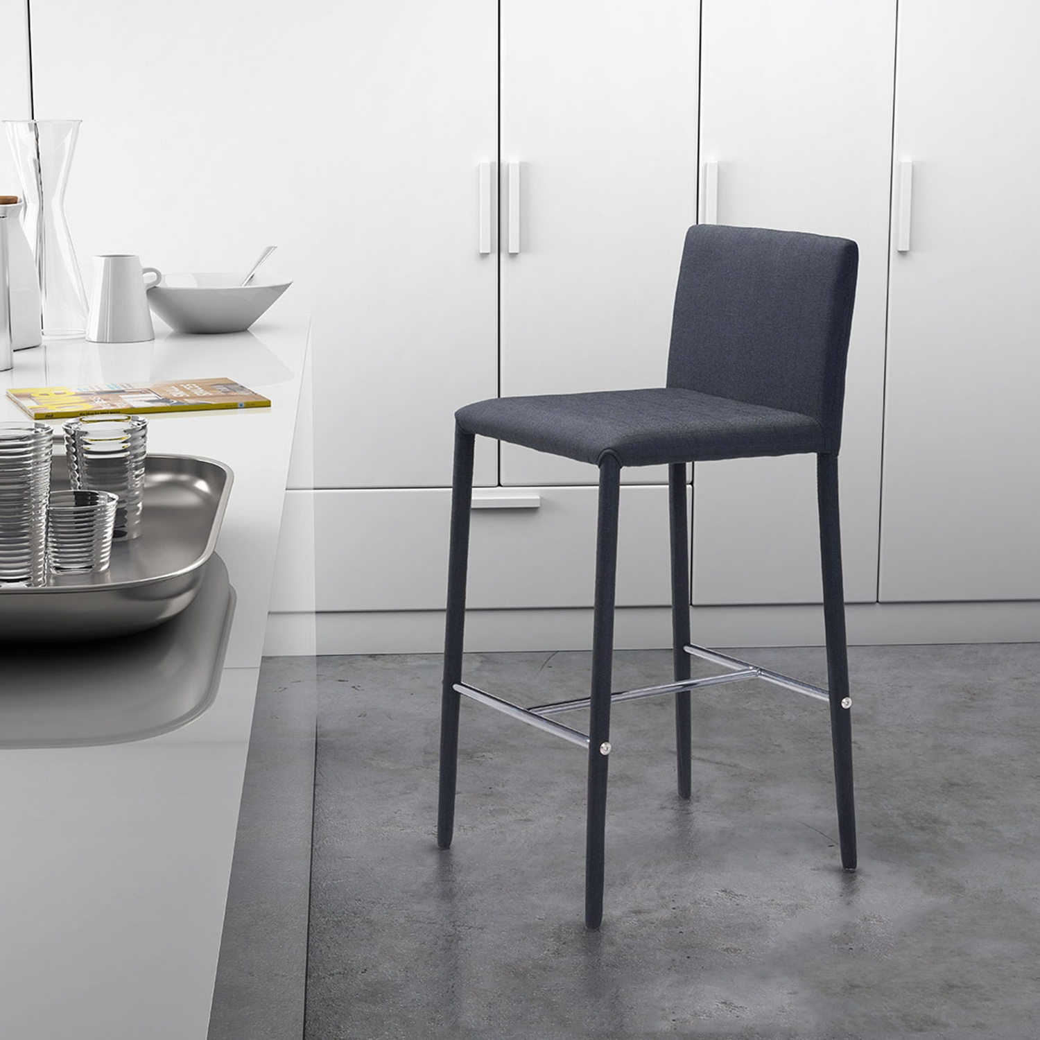 Confidence Counter Chair - Black - ZM-100244