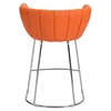 Latte Backless Counter Chair - Orange - ZM-100250
