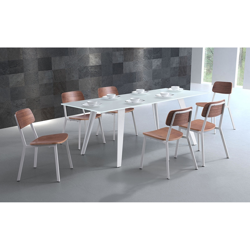 House Rectangular Dining Table White Dcg Stores