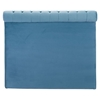 Sergio Headboard Queen - Tufted, Blue Velvet - ZM-100256