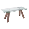 Wonder Extension Dining Table - Walnut - ZM-100263