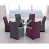 Whittle Dining Chair - Purple - ZM-100267