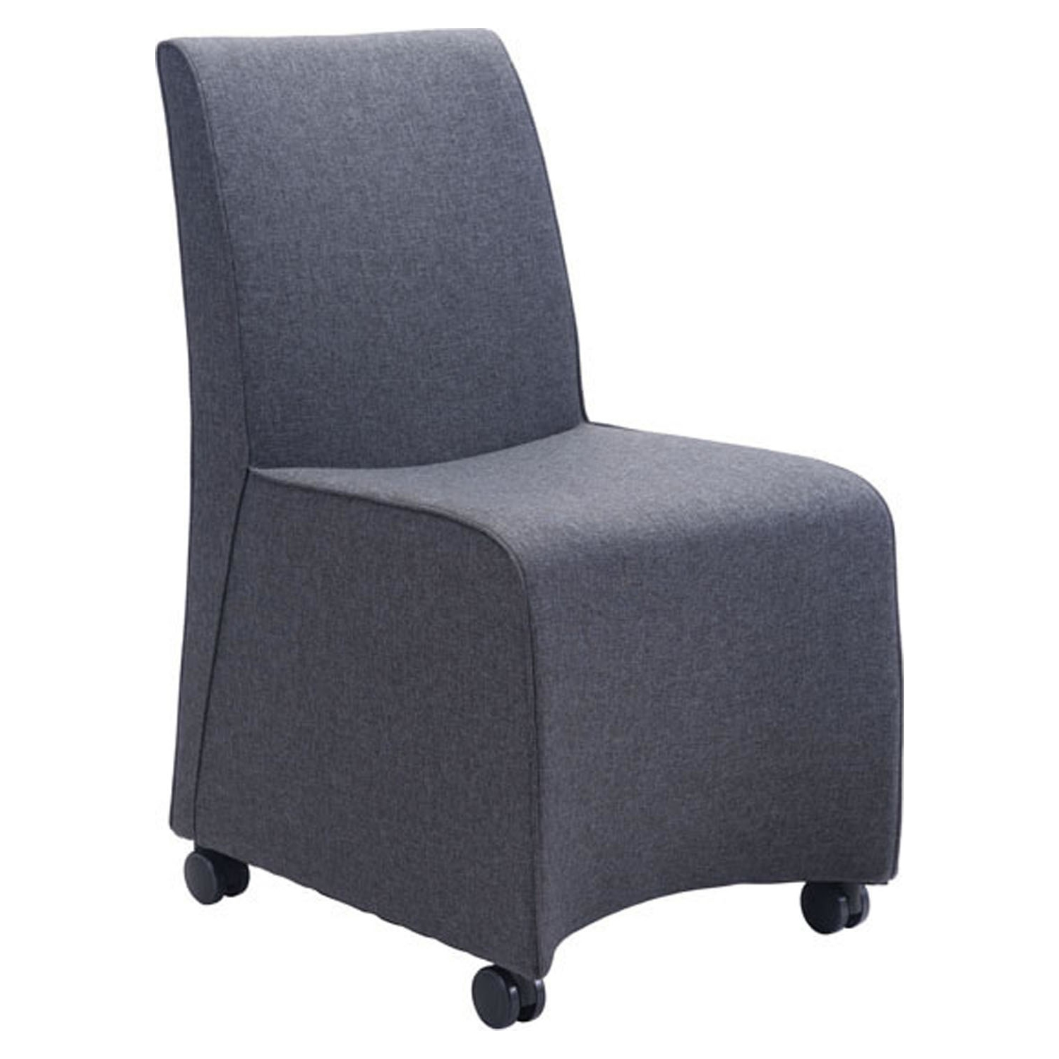 Whittle Dining Chair - Dark Gray - ZM-100266