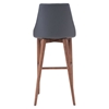 Moor Bar Chair - Dark Gray - ZM-100282