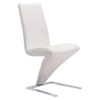 Herron Dining Chair - White - ZM-100284