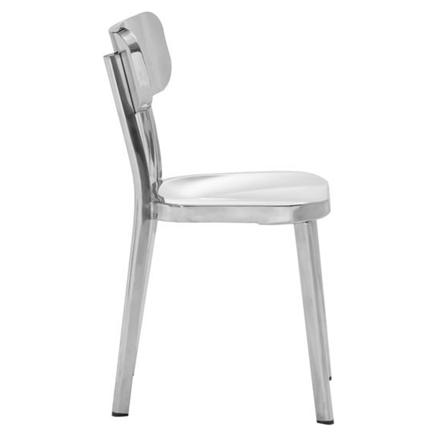 Winter Dining Chair - Stainless Steel - ZM-100301