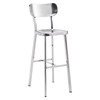 Winter Bar Chair - Stainless Steel - ZM-100303