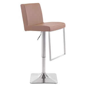 Puma Bar Chair - Adjustable, Taupe