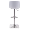 Cougar Bar Chair - Adjustable, White - ZM-100313