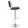 Tiger Bar Chair - Tufted, Black - ZM-100315