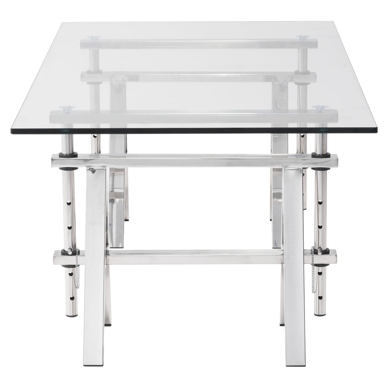 Lado Coffee Table - Chrome - ZM-100358