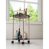 Plato Serving Cart - Rose Gold - ZM-100366