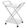 Vesuvius Serving Cart - Stainless Steel - ZM-100369