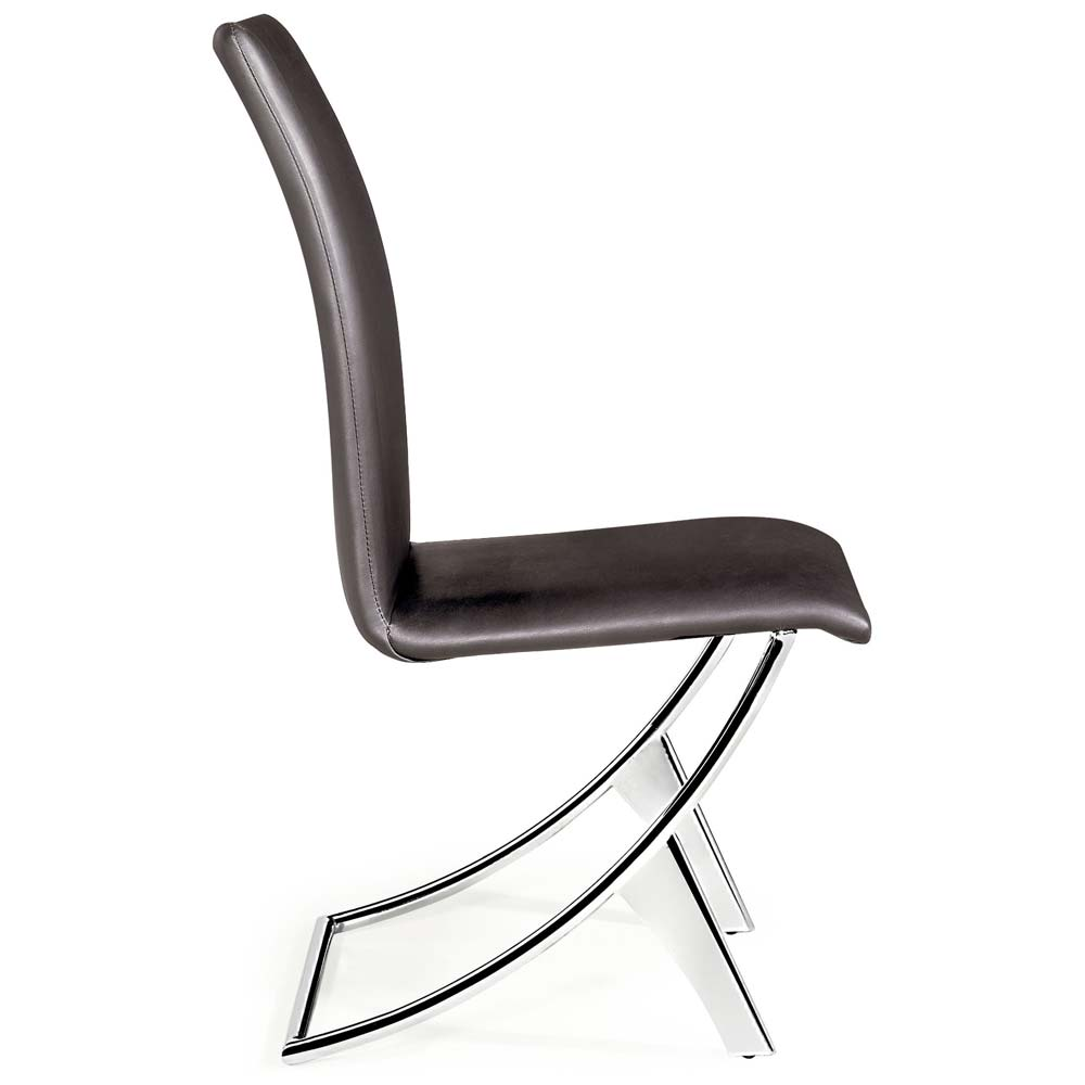 Delfi Dining Chair in Espresso - ZM-102103