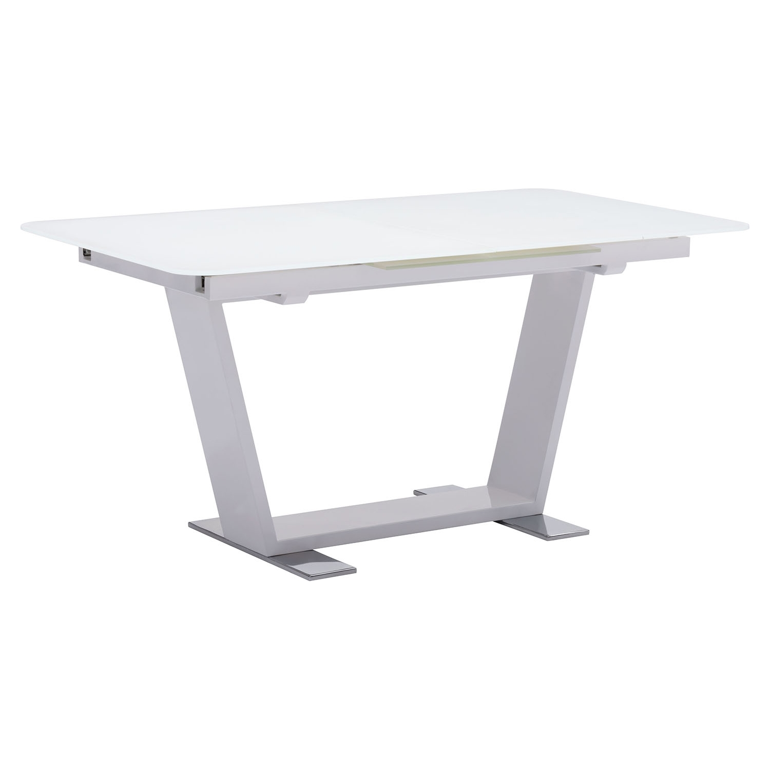 St Charles Extension Dining Table - White - ZM-102130